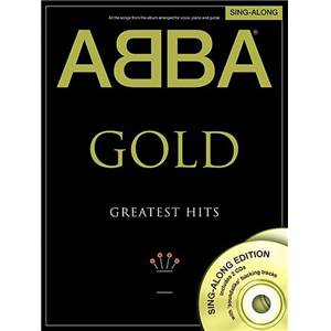 ABBA - GOLD GREATEST HITS SINGALONG + 2CD