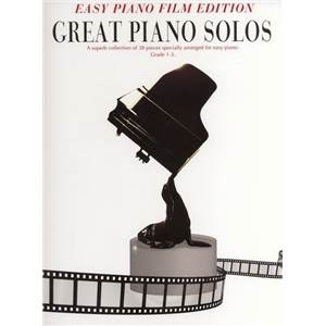 COMPILATION - GREAT PIANO SOLOS EASY FILM EDITION