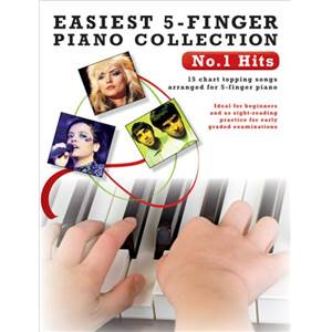 COMPILATION - EASIEST 5 FINGER PIANO COLLECTION : NO.1 HITS