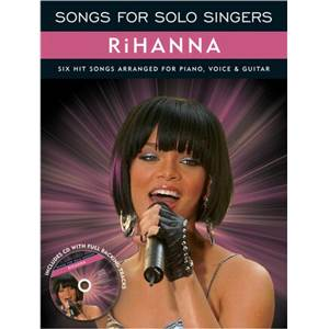 RIHANNA - SONGS FOR SOLO SINGERS + CD