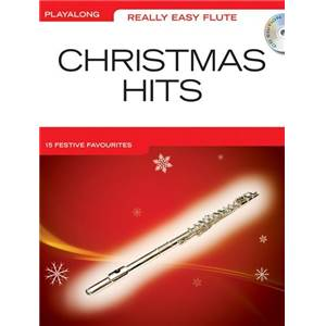 COMPILATION - REALLY EASY FLUTE CHRISTMAS HITS + CD