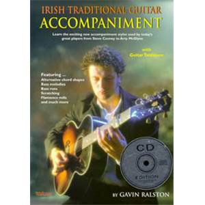 RALSTON GAVIN - IRISH TRADITIONNAL GUITAR ACCOMPANIMENT+ CD