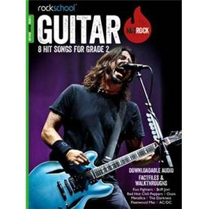 COMPILATION - ROCKSCHOOL HOT ROCK GUITAR GRADE 2 + DOWNLOAD CARD