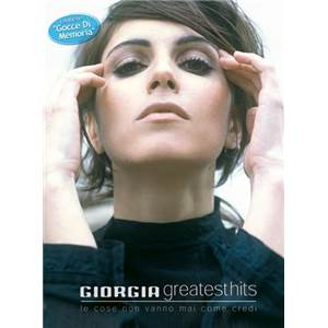 GIORGIA - GREATEST HITS LIGNE MELODIQUE ET ACCORDS