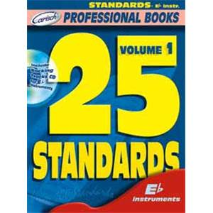 COMPILATION - 25 STANDARDS FOR EB INSTUMENTS + CD