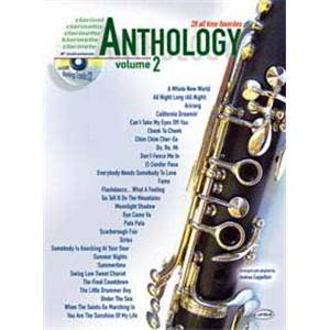 COMPILATION - ANTHOLOGY CLARINET AND BB INSTRUMENTS VOL.2 + CD