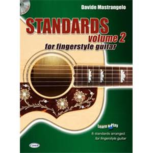 MASTRANGELO DAVIDE - STANDARDS FINGERSTYLE GUITAR VOL.2 + CD