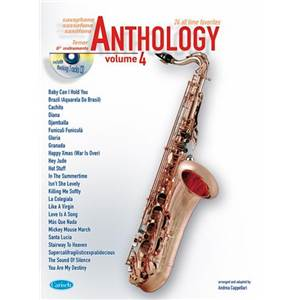 COMPILATION - ANTHOLOGY TENOR SAXOPHONE VOL.4 24 ALL TIME FAVORITES + CD