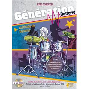 RHIEVON ERIC - GENERATION BATTERIE METHODE + 2CD