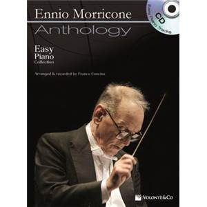 MORRICONE ENNIO - ANTHOLOGY EASY PIANO COLLECTION + CD