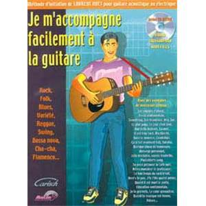 HUET LAURENT - JE M'ACCOMPAGNE FACILEMENT A LA GUITARE + CD