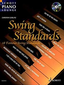 SWING STANDARDS (ARRANGEMENTS DE GERLITZ CARSTEN) +CD - PIANO