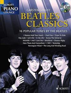 BEATLES THE - BEATLES CLASSICS +CD (ARRANGEMENTS DE GERLITZ CARSTEN) - PIANO