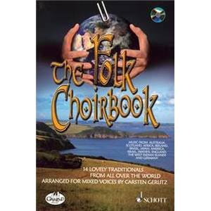 GERLITZ CARSTEN - THE FOLK CHOIRBOOK + CD CHANT(SATB)