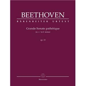 LUDWIG VAN BEETHOVEN - GRANDE SONATE PATHETIQUE OP.13 EN DO MINEUR - PIANO
