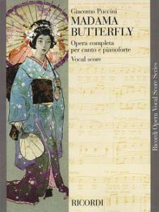 PUCCINI GIACOMO - MADAME BUTTERFLY (ITALIEN-ANGLAIS) - VOCAL SCORE