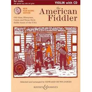 HUWS JONES EDWARD - AMERICAN FIDDLER (VIOLONISTE AMERICAIN) + CD VIOLON SOLO