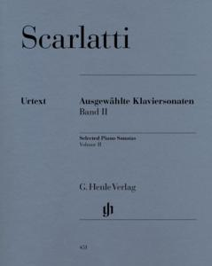 SCARLATTI DOMENICO - SONATES CHOISIES VOL.2 - PIANO