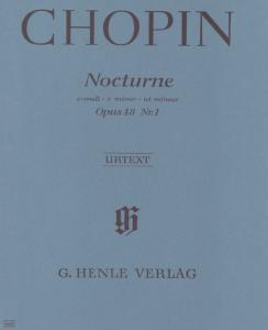 CHOPIN FREDERIC - NOCTURNE OP.48 No1 EN DO MINEUR - PIANO
