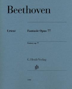 BEETHOVEN - FANTAISIE OPUS 77 - PIANO