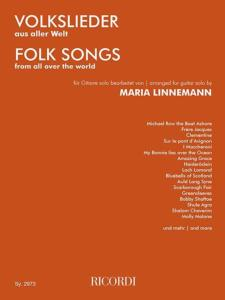 LINNEMANN MARIA - FOLK SONGS FROM ALL OVER THE WORLD - GUITARE - 2 GUITARES