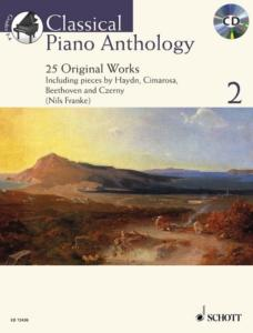 CLASSICAL PIANO ANTHOLOGY VOL.2 +CD - PIANO