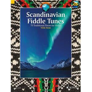 COMPILATION - SCANDINAVIAN FIDDLE TUNES (73 PIECES TRADITIONNELLES) + CD VIOLON