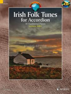 IRISH FOLK TUNES +CD (30 AIRS TRADITIONNELS IRLANDAIS) - ACCORDEON