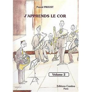 PASCAL PROUST - J'APPRENDS LE COR VOL.2