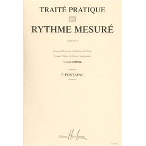 FONTAINE FERNAND - TRAITE DU RYTHME VOL.2 - FORMATION MUSICALE