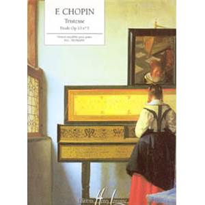CHOPIN FREDERIC - ETUDE OP.10 N°3 TRISTESSE - PIANO