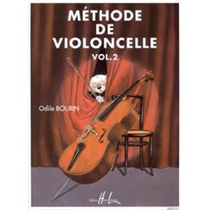 BOURIN ODILE - METHODE DE VIOLONCELLE VOL.2