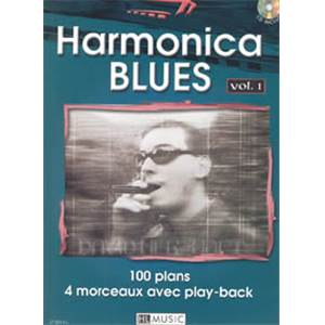 HERZHAFT DAVID - HARMONICA BLUES VOL.1 + CD