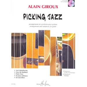 GIROUX ALAIN - PICKING JAZZ METHODE + CD