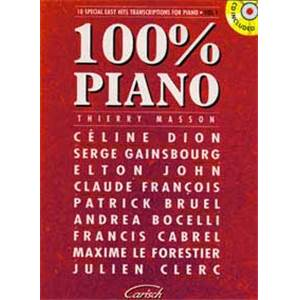 MASSON THIERRY - 100% PIANO VOL.1 + CD