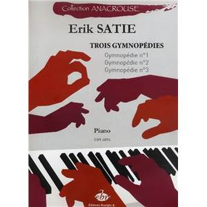 SATIE ERIK - 3 GYMNOPEDIES POUR PIANO