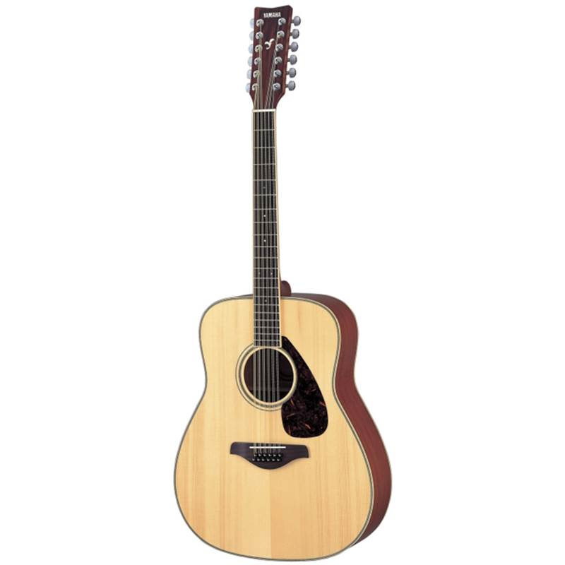 guitare folk 12 cordes yamaha fg720 12 nt. Black Bedroom Furniture Sets. Home Design Ideas
