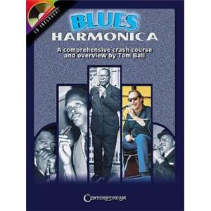 BALL TOM - BLUES HARMONICA CRASH COURSE TAB. + CD