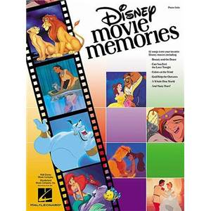 DISNEY - MOVIE MEMORIES PIANO SOLO
