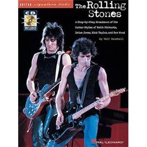 ROLLING STONES - GUITAR SIGNATURE LICKS + CD ÉPUISÉ