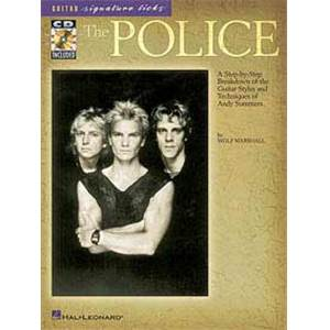 POLICE THE - SIGNATURE LICKS GUITAR TAB. + CD