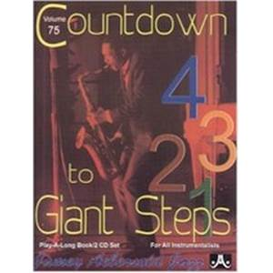 COMPILATION - AEBERSOLD 075 COUNT DOWN TO GIANT STEP + CD