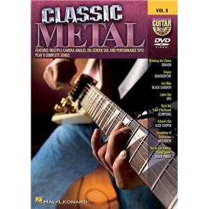 COMPILATION - GUITAR PLAY ALONG DVD VOL.08 CLASSIC METAL