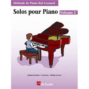 COMPILATION - METHODE DEPIANO HAL LEONARD SOLOS POUR PIANO VOL.2