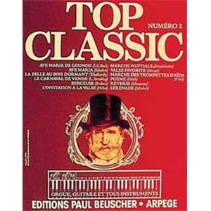 COMPILATION - TOP CLASSIC VOL.2 LIGNE MELODIQUE, PAROLES ET ACCORDS