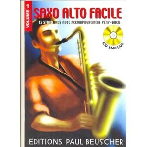 SAXOPHONE FACILE VOL.1 + CD - SAXOPHONE