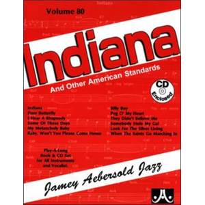 COMPILATION - AEBERSOLD 080 INDIANA AND OTHER AMERICAN STANDARDS + CD