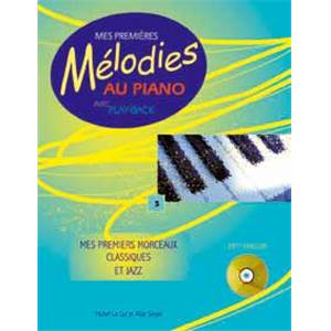 LE COZ MICHEL - MES PREMIERES MELODIES AU PIANO VOL.3 + CD