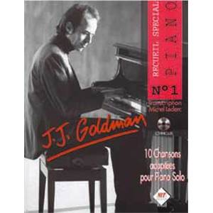 LECLERC MICHEL - GOLDMAN J J. SPECIAL PIANO VOL.1 + CD