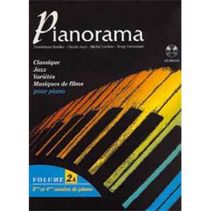 BORDIER/LECLERC/LECUSSANT - PIANORAMA VOL.2A + CD